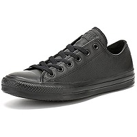 Converse all star ox leather baskets monochrome...