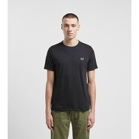 Fred perry t-shirt ringer, noir