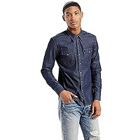 Levi's - l/s barstow western shirt - jeans...