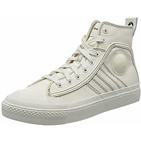 Diesel baskets s-astico mid lace homme, blanc...