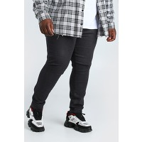 Grande taille - jean super skinny homme - noir...