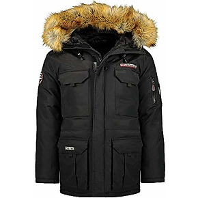Geographical norway bottle men - parka chaud...